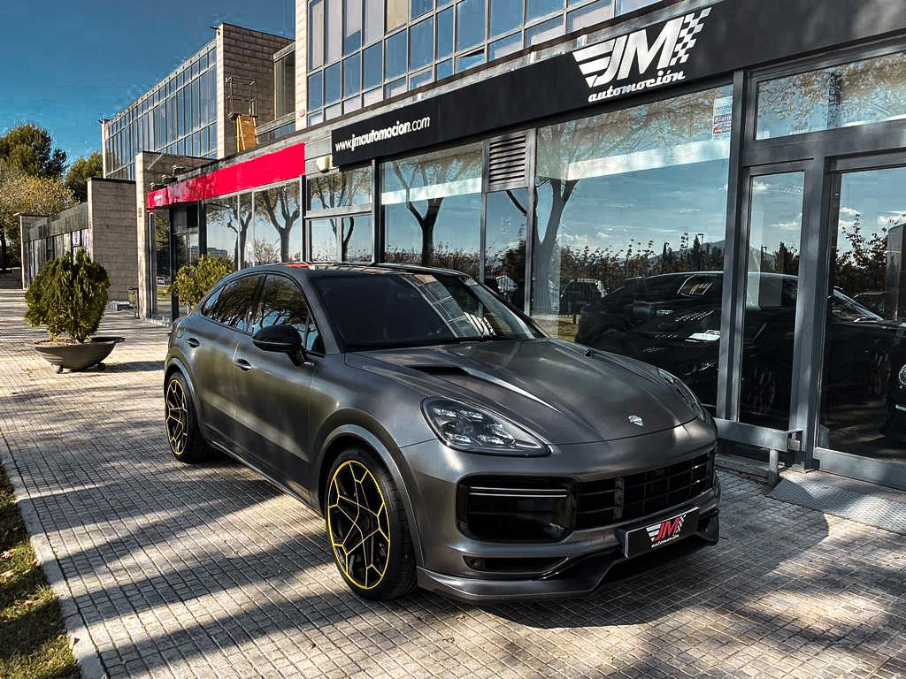 PORSCHE CAYENNE TURBO COUPÉ TECHART -NACIONAL, 680CV-
