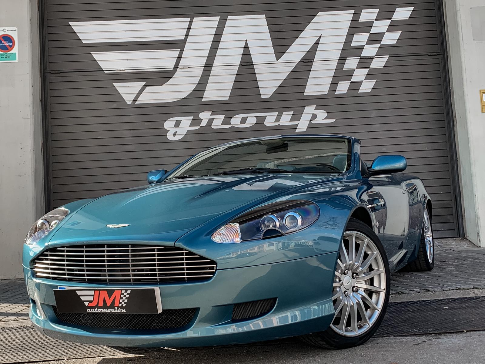 ASTON MARTIN DB9 VOLANTE -NACIONAL, IMPECABLE ESTADO-