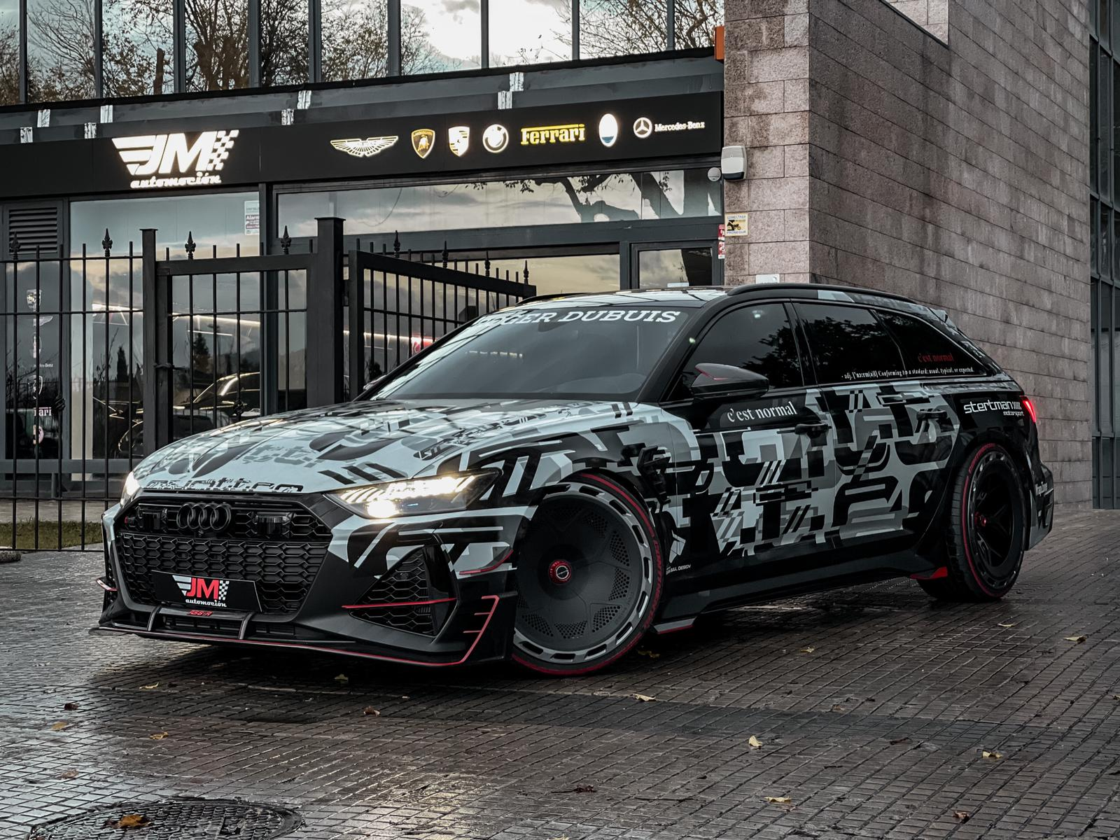 AUDI RS6-R ABT 1 OF 1 'LEON'