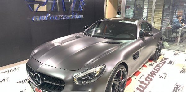 MERCEDES AMG GTS IVA DEDUCIBLE