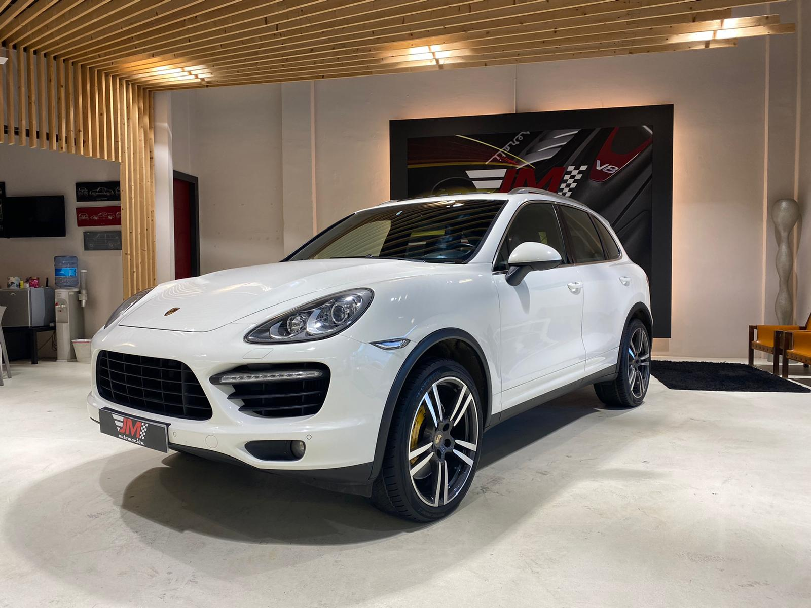 PORSCHE CAYENNE TURBO AUT. NACIONAL, IVA DEDUCIBLE