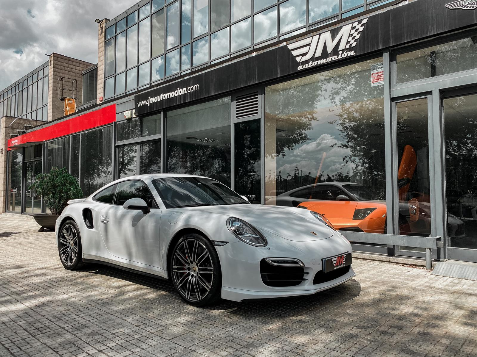 PORSCHE 911 991 TURBO COUPÉ PDK -PORSCHE APPROVED, IVA DEDUCIBLE-