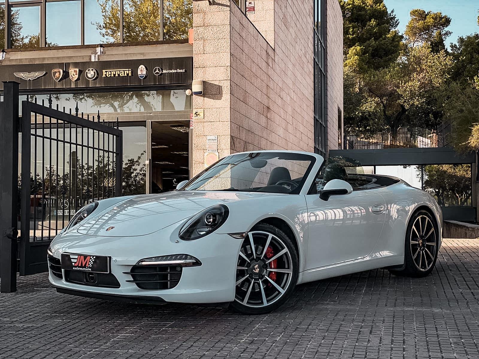 PORSCHE 911 991 CARRERA S CABRIO --IVA DEDUCIBLE--