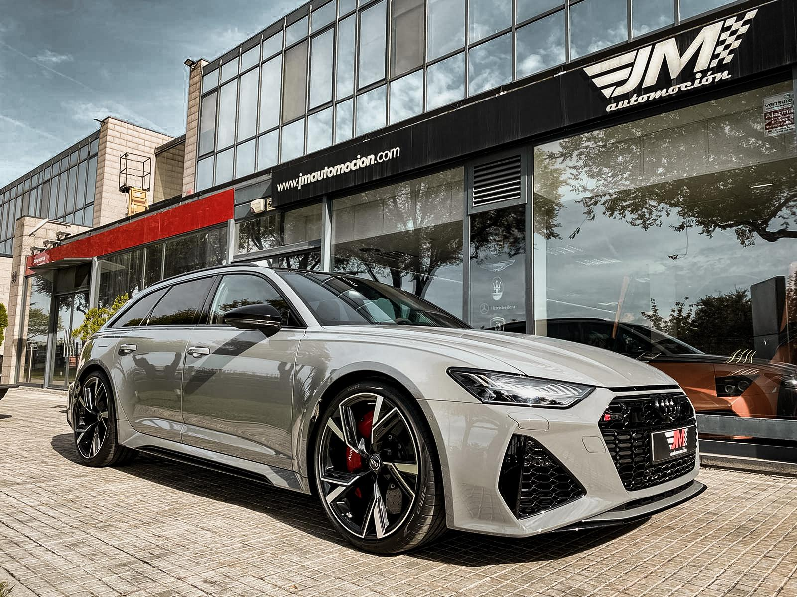 AUDI RS6 AVANT 2020 NARDO GREY -IVA DEDUCIBLE, FULL OPTIONS-