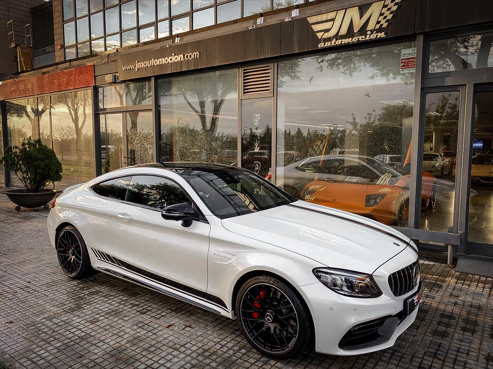 MERCEDES-BENZ C63S AMG COUPE -FULL OPTIONS, IVA DEDUCIBLE-