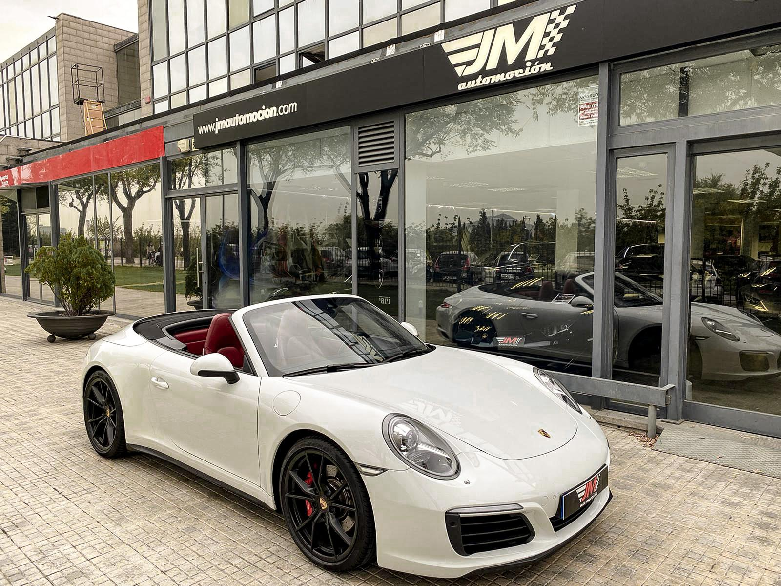 PORSCHE 911 991 CARRERA 4S CABRIO PDK MKII -IVA DEDUCIBLE-