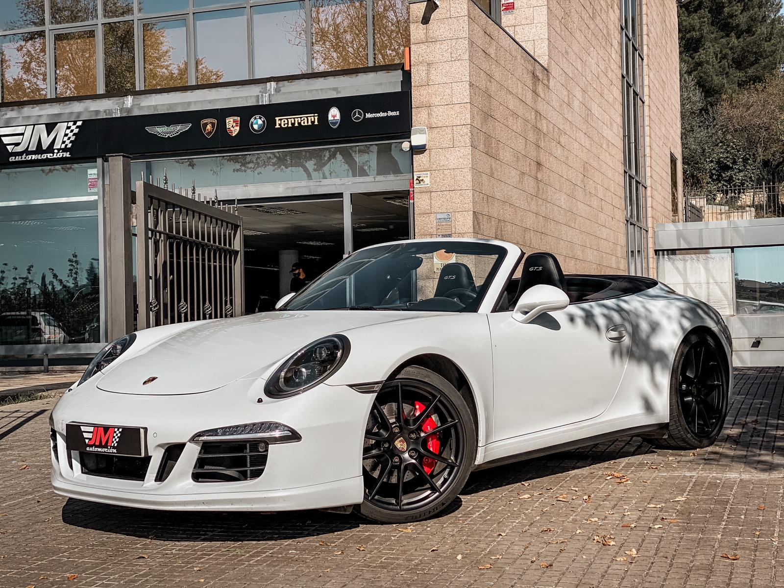 PORSCHE 911 991 CARRERA 4 GTS CABRIO -IVA DEDUCIBLE-